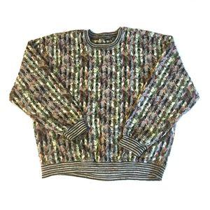 JHANE BARNES Wool Blend Sweater/XL
